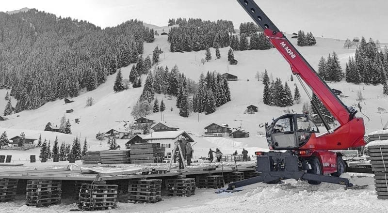 Magni official sponsor for the preparation of the slopes for the FIS AUDI World Ski Championships
