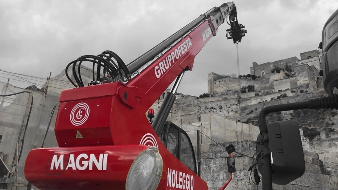 Magni for the restoration of Sassi di Matera