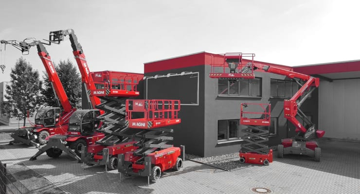 The expansion of Magni Telescopic Handlers in Germany