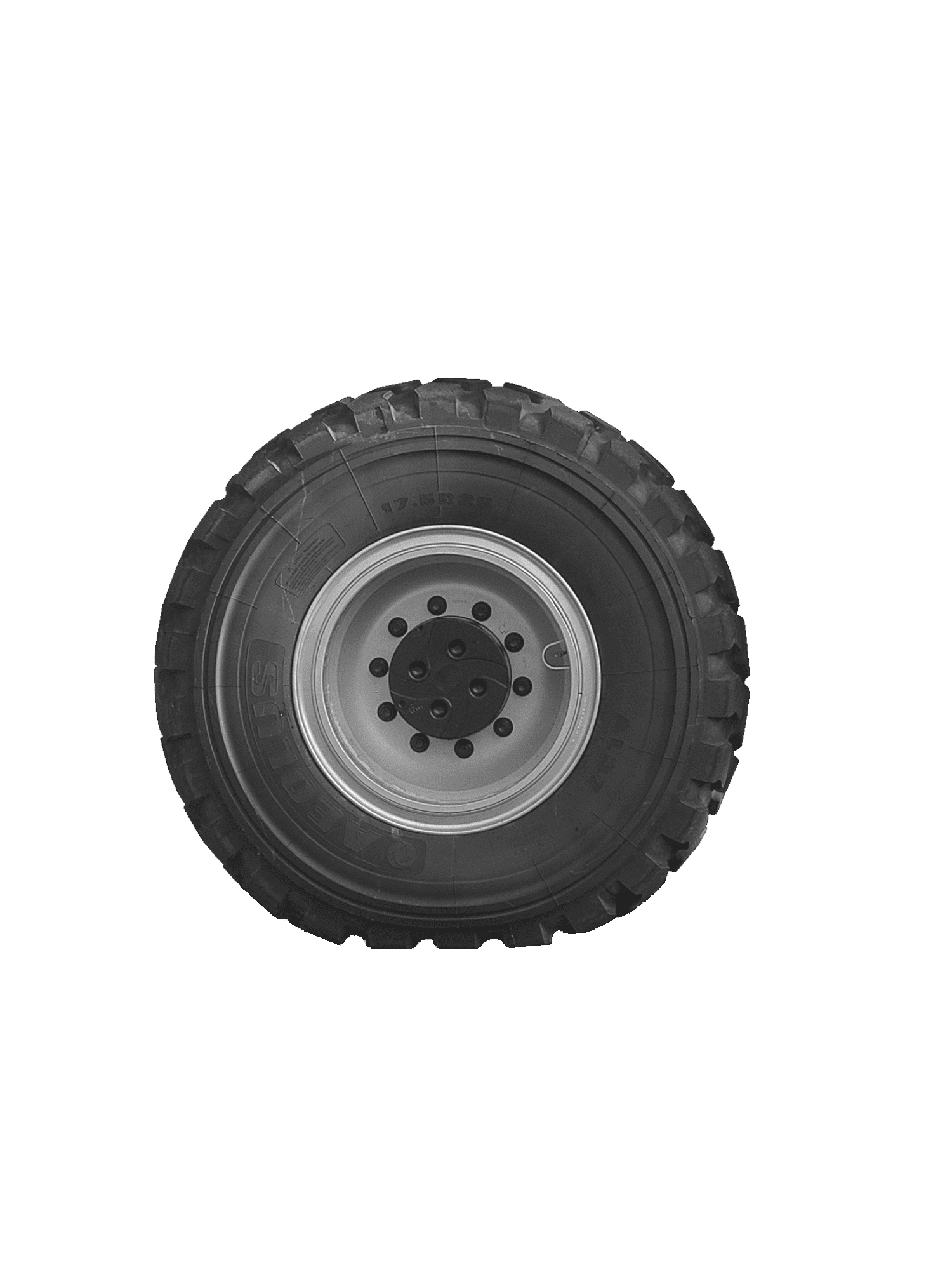 RIGHT SPARE WHEEL FOR RTH 4.18