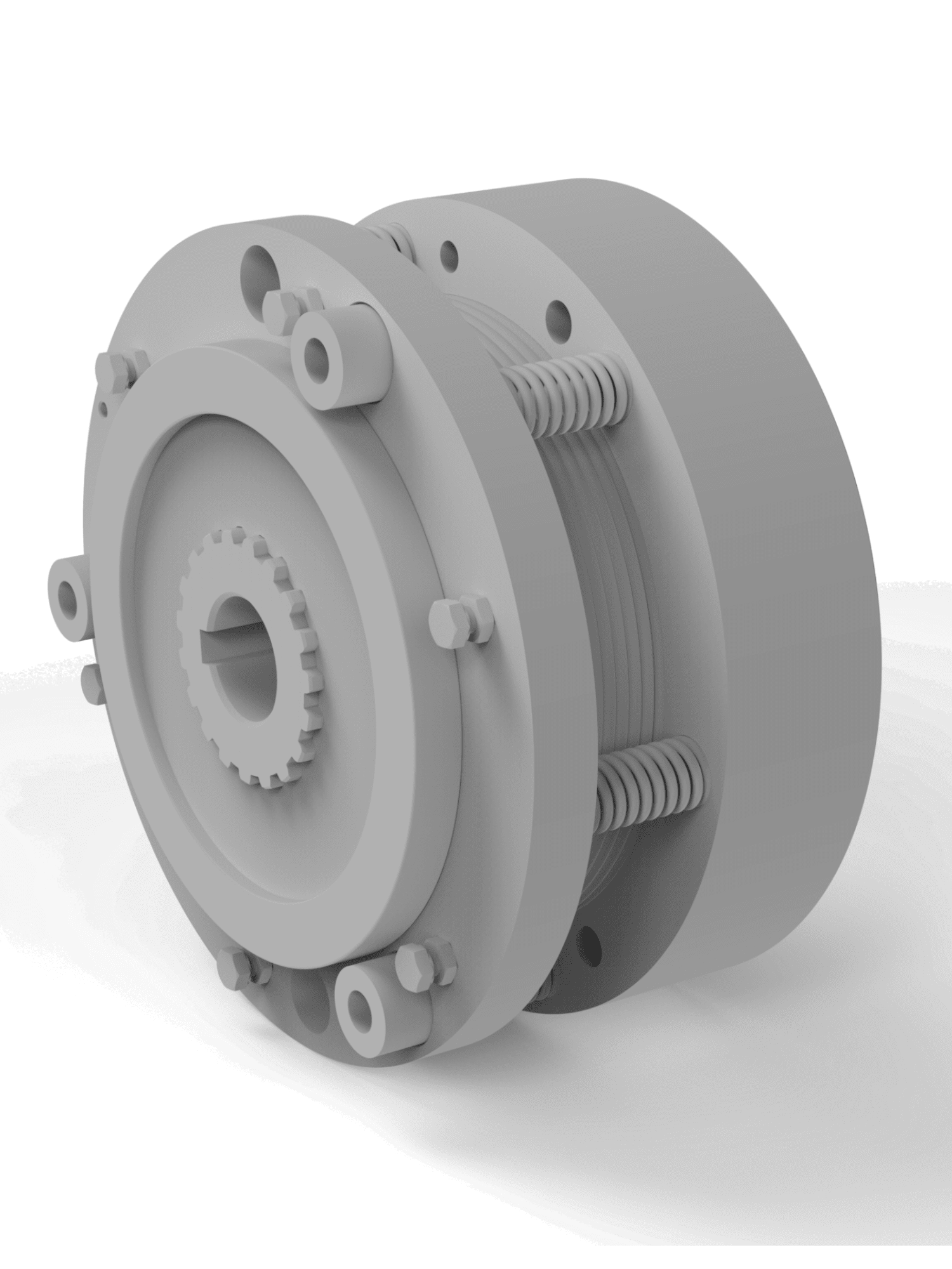 INDUCTION BRAKE SYSTEM FOR RTH