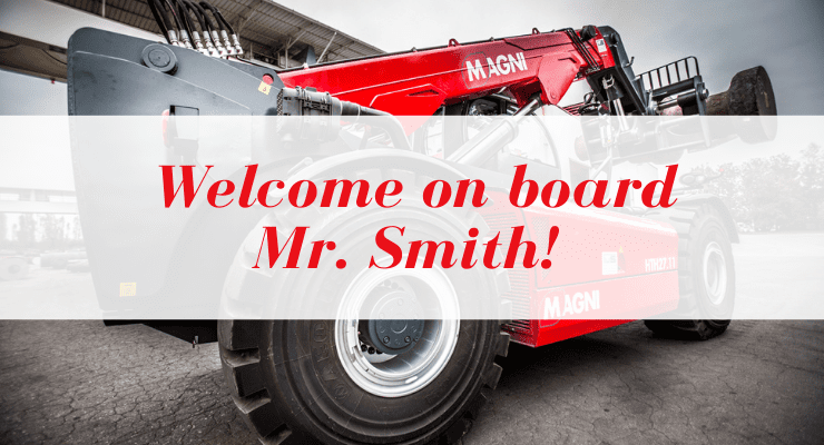 Welcome on board Mr. Jannie Smith!